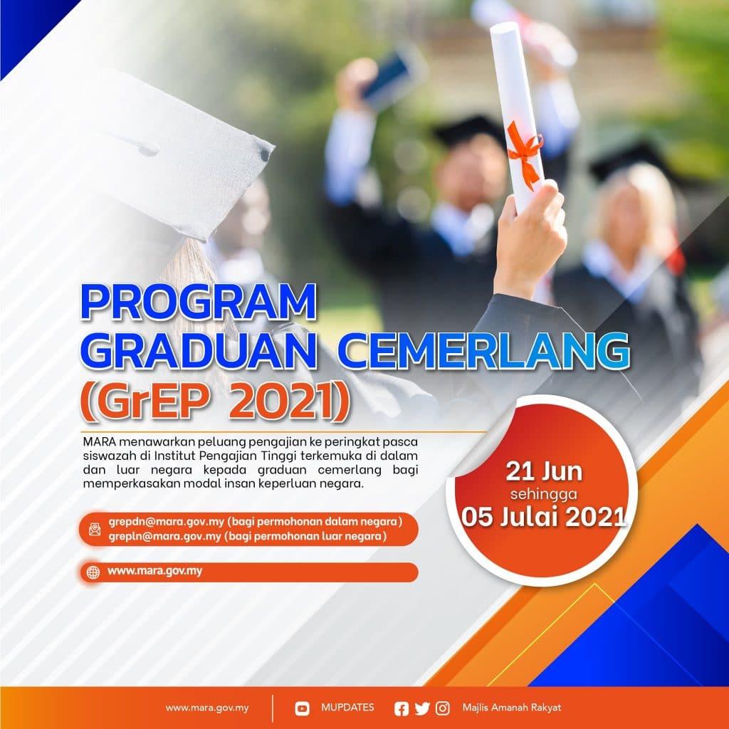 Graduate Excellence Programme (GrEP) atau Program Graduan Cemerlang 2021